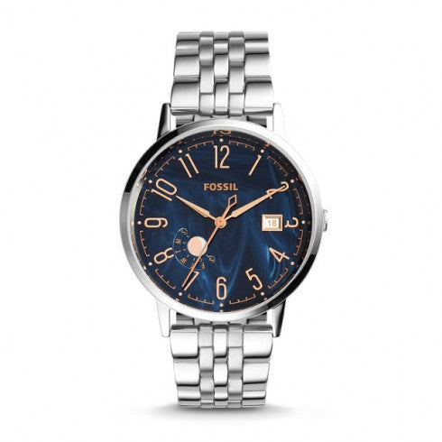 Fossil ES3994 Vintage Muse Blue Dial Ladies Watch
