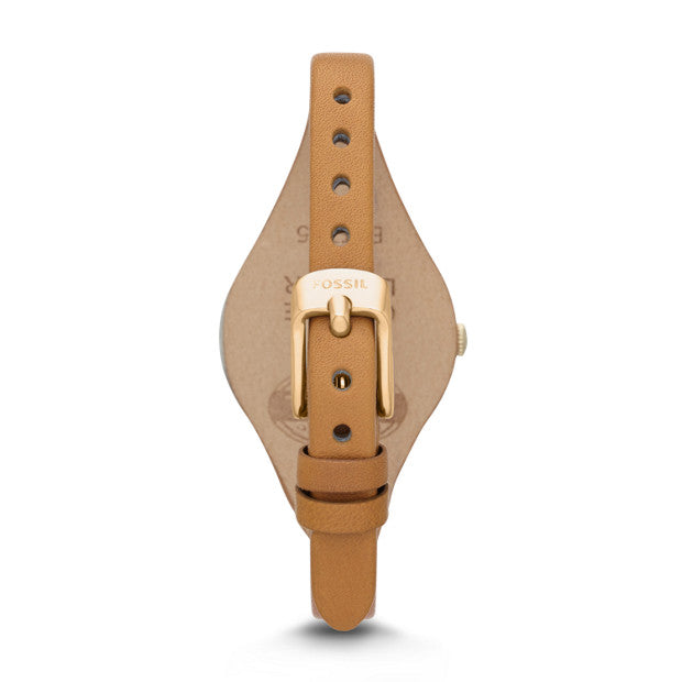 Fossil Es3565 Georgia Tan Leather Watch