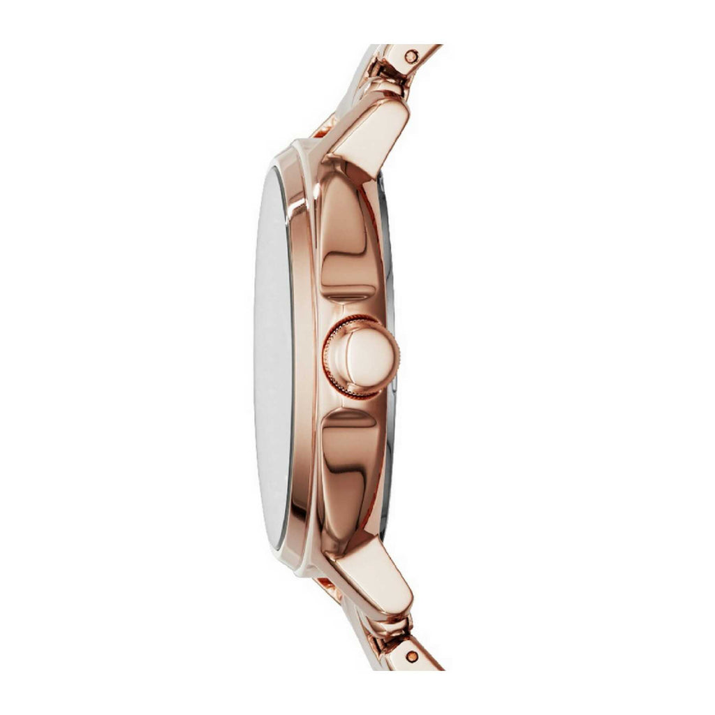 Fossil Es3720 Chelsey Rose Gold Stainless Steel Watch