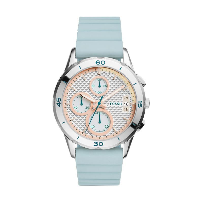 fossil ES4023 modern pursuit chronograph seaglass