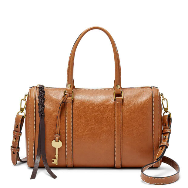 Fossil Zb7105216 Kendall Satchel Saddle