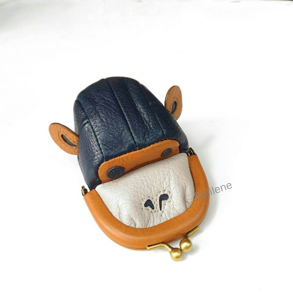 Fossil Novelty Monkey Coin Purse Neutral Multi Wallet