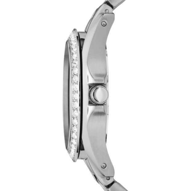 Jam Fossil ES3202 Riley Multifunction Silver Stainless Steel Samping