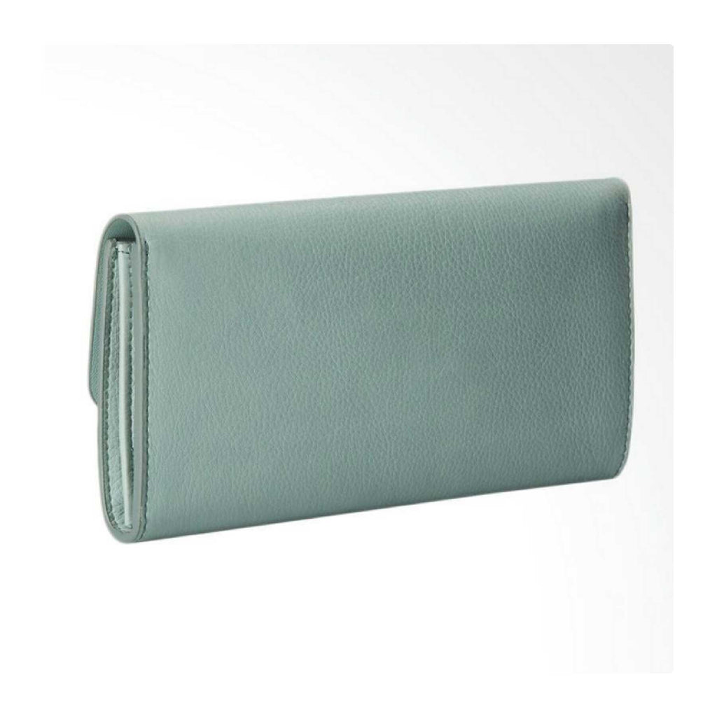Fossil SL6851116 Haven Large Triple Gusset Flap Clutch Sea Glass