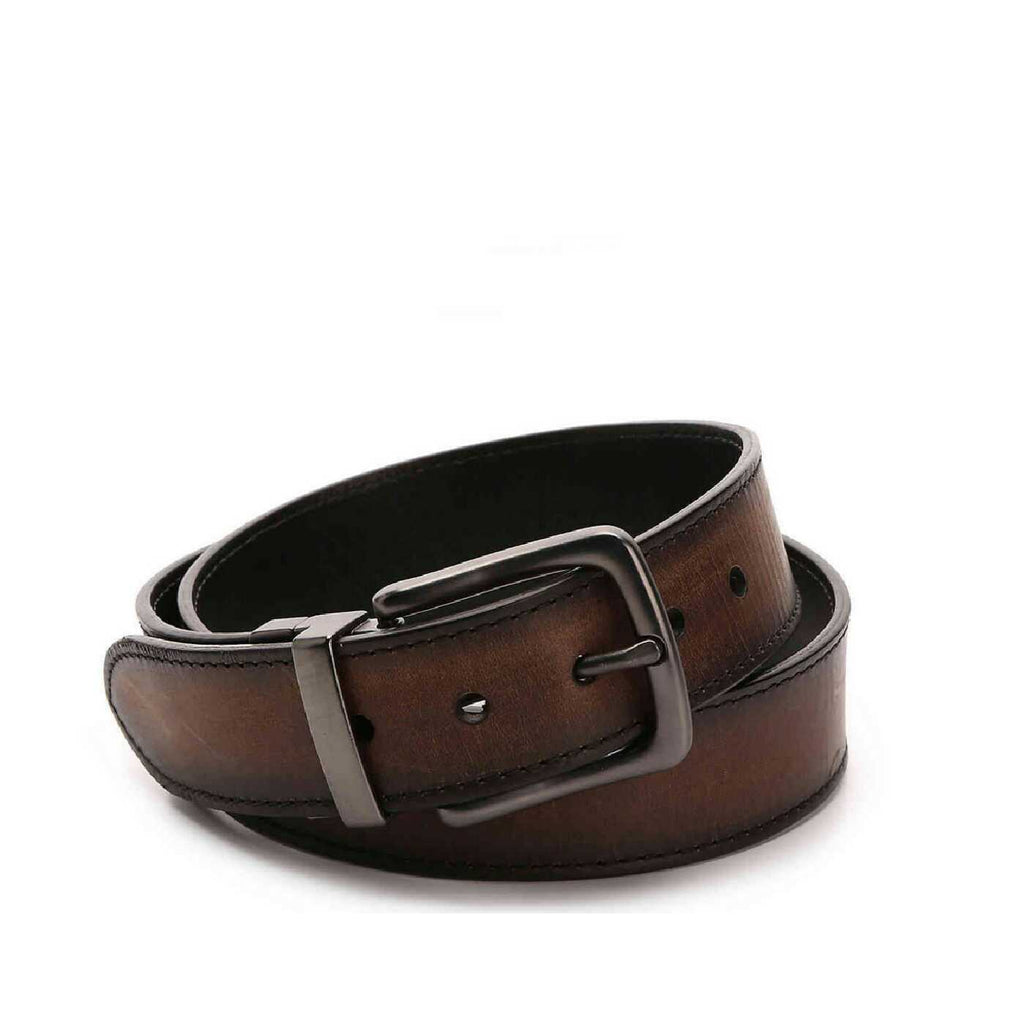 Fossil SMB1035200 Brayden Reversible Belt Brown size 34