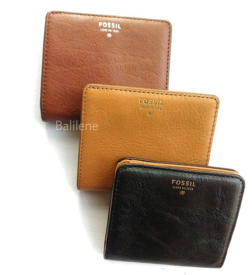 Fossil Sl6684200 Sydney Mini Wallet Brown Bifold