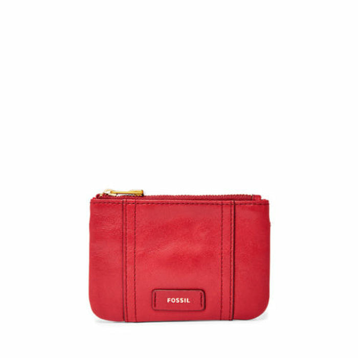 Fossil Sl7102 Ellis Zip Coin Red Velvet