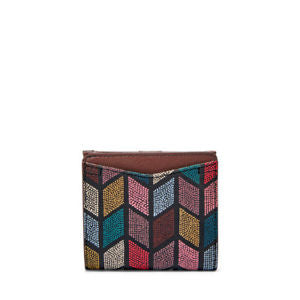Fossil Sl7591762 Caroline Rfid Mini Wallet Fall Multi