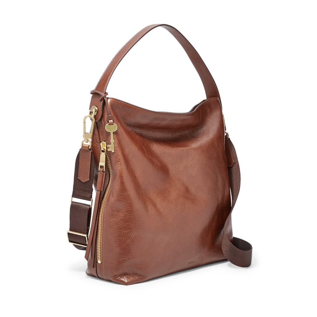Fossil Zb6980200 Maya Hobo Large Brown