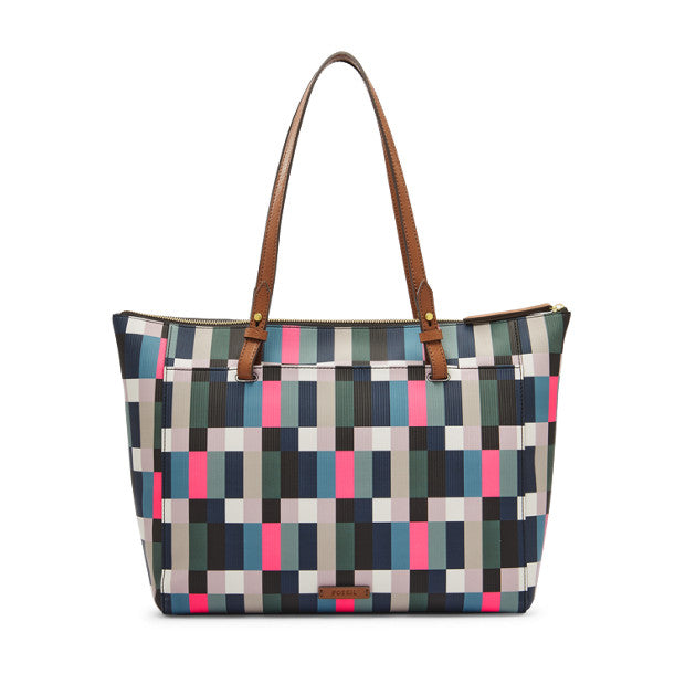 Fossil Zb7446997 Rachel Tz Tote Bright Multi Color