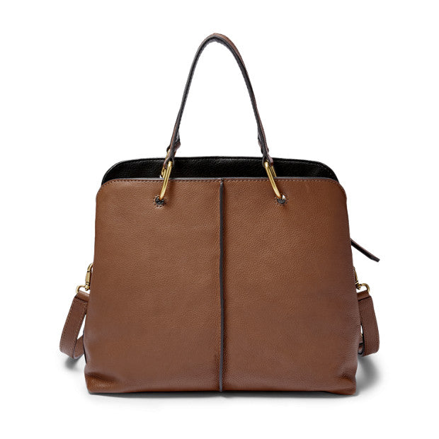 Fossil Zb7471200 Fossil Lane Satchel Brown