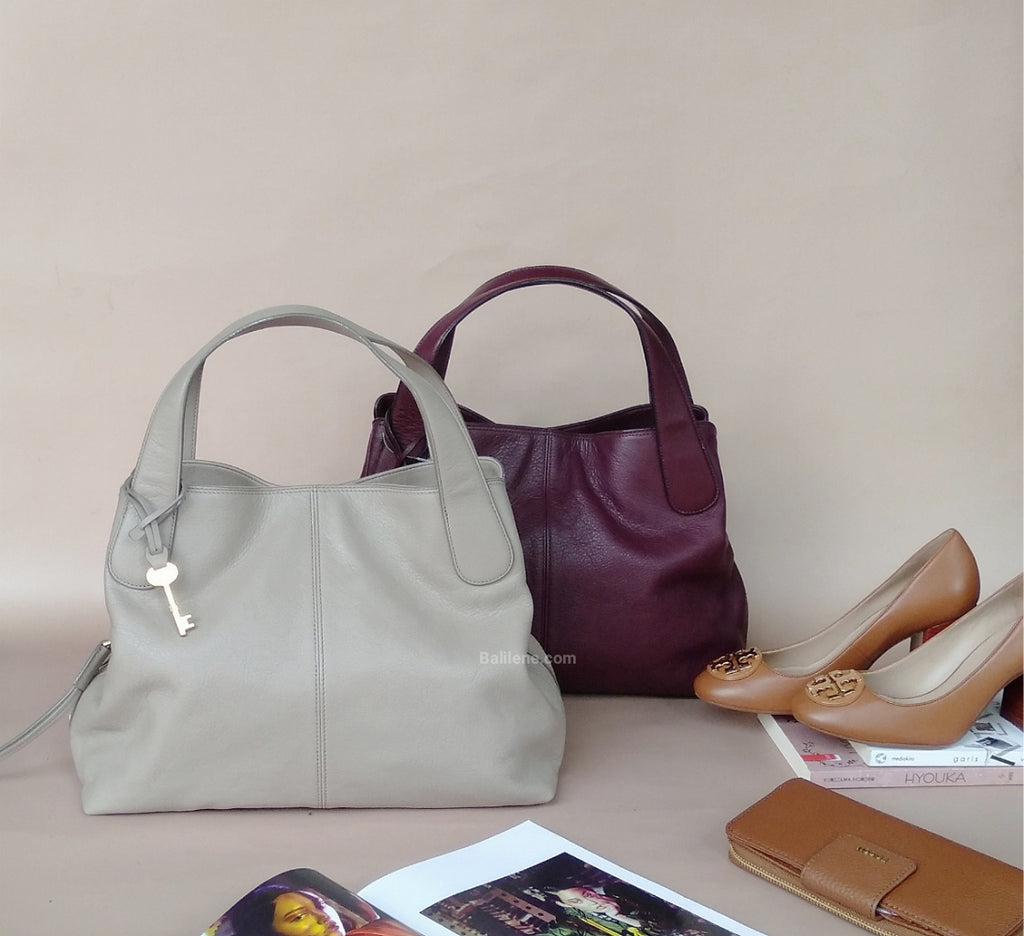 Fossil Zb7567263 Maya Satchel Light Taupe