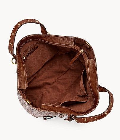 Fossil Zb7773914 Camilla Backpack Brown Multi
