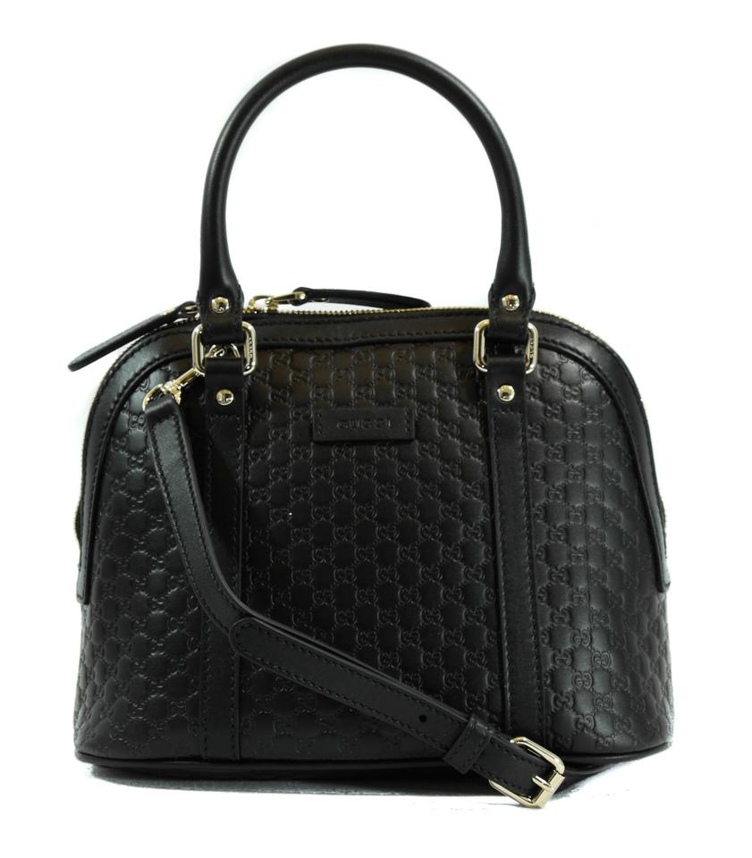Gucci 449654-1 Alma Small Signature in Black