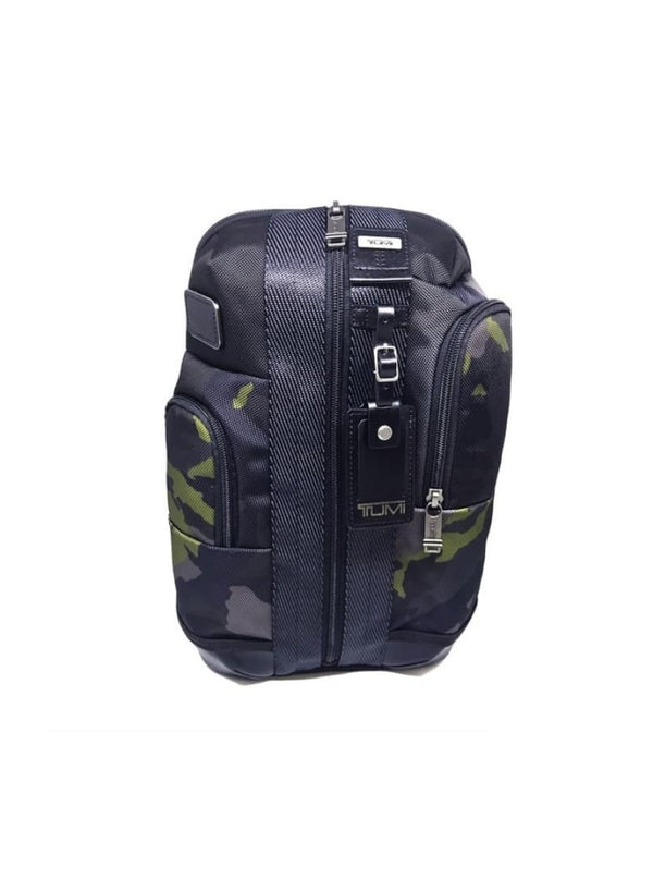 Tumi 111779-8299 Higgings Sling Bag Avocado Green Camo Black