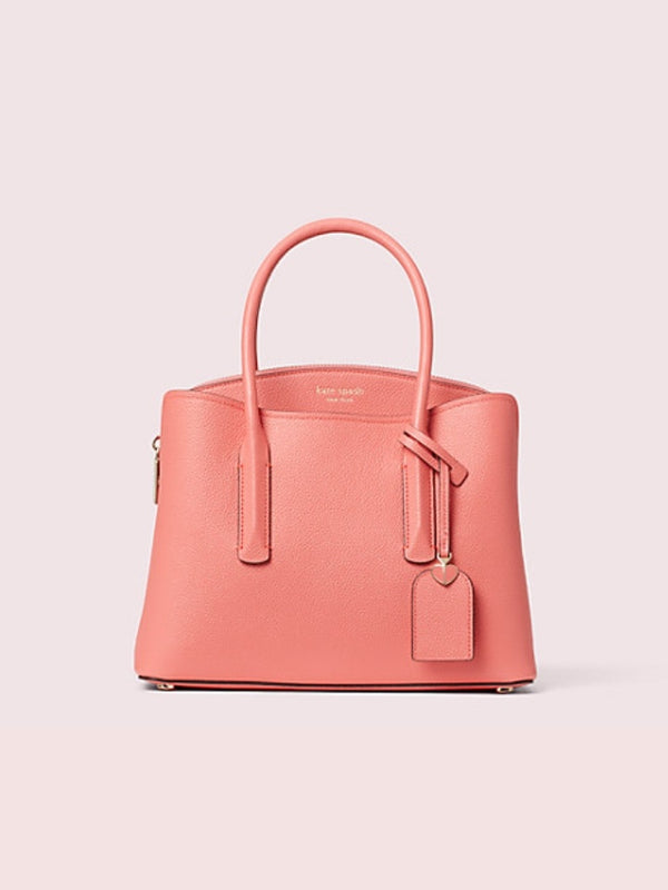 Kate Spade Pxrua161 Medium Satchel Margaux Peachy