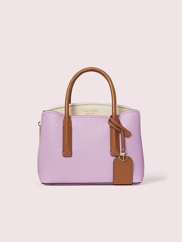 Kate Spade Pxrua540 Margaux Mini Satchel Violet Brown
