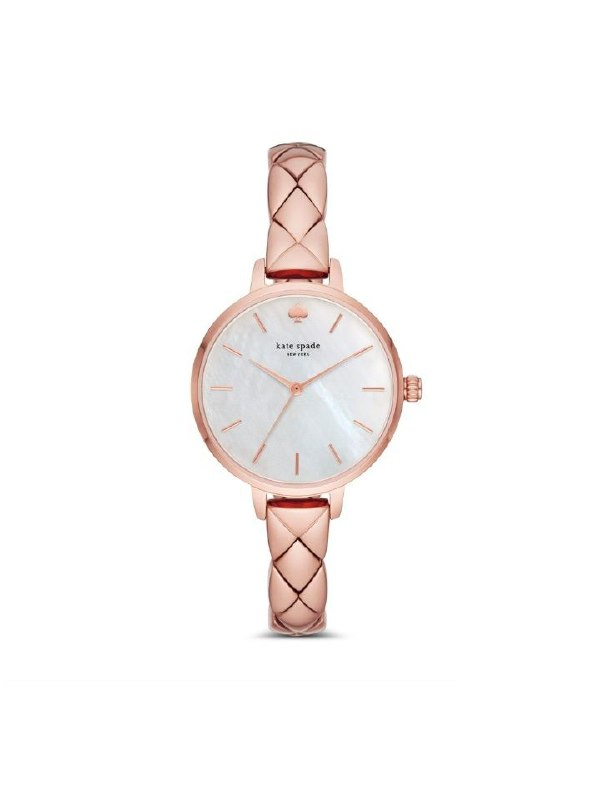 Kate Spade Ksw1466 Metro Scallop Rose Gold-Tone Bracelet Watch