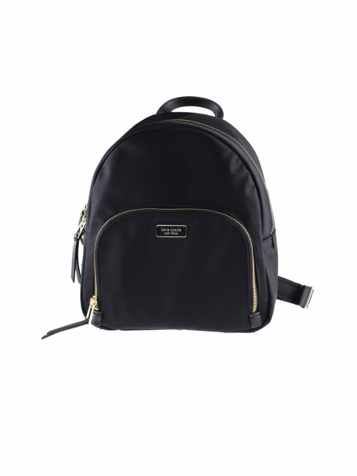 Kate Spade Wkru5913 New York Dawn Black Medium Backpack