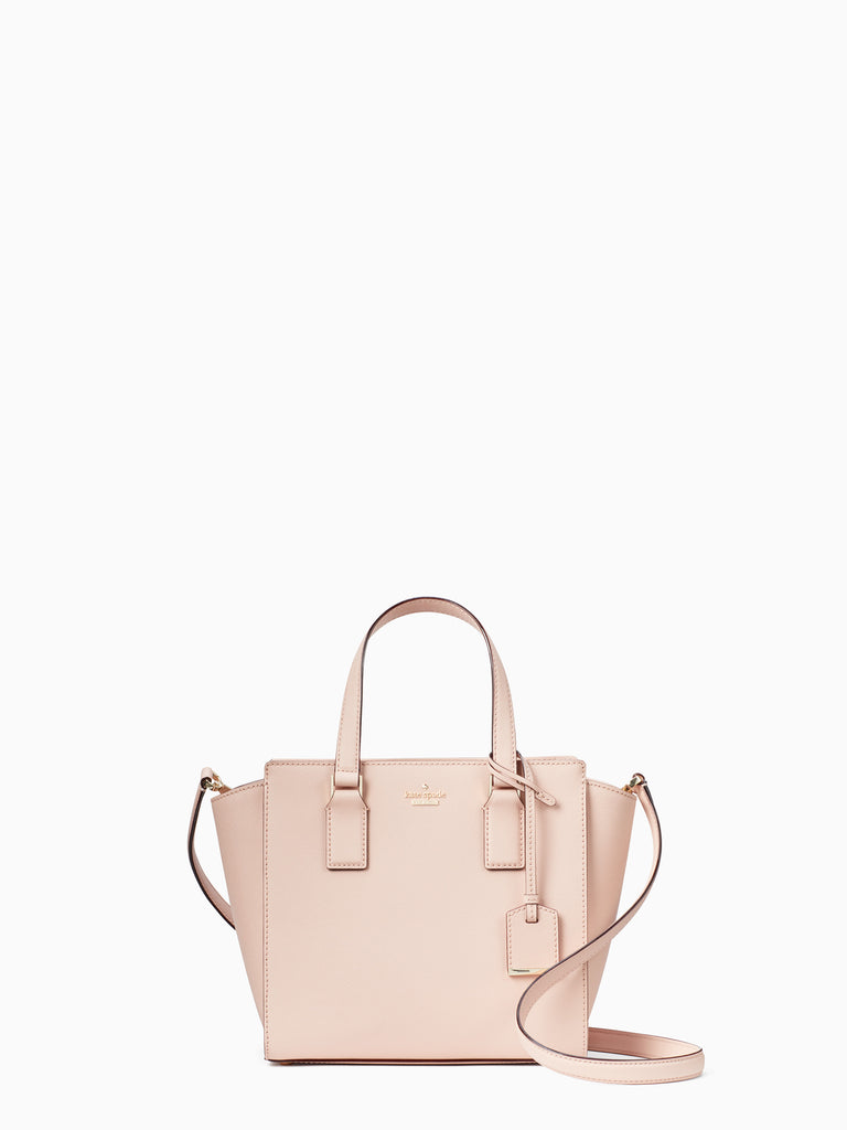 Kate Spade Pxru8884 Cameron Street Small Hayden Warm Vellum Satchel Bag
