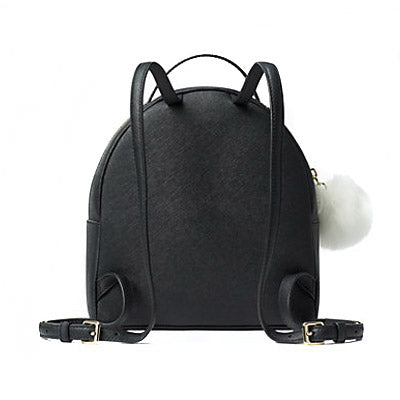 Kate Spade Wkru4758 Backpack Rabbit Sammi Black