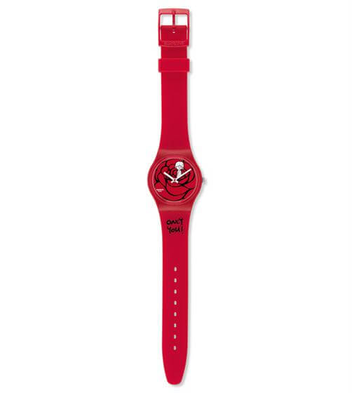 Ladies Swatch GZ264 Catch My Heart Watch