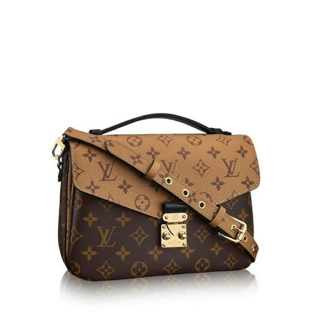 Louis Vuitton M41465 Pochette Metis Monogram Reverse Canvas