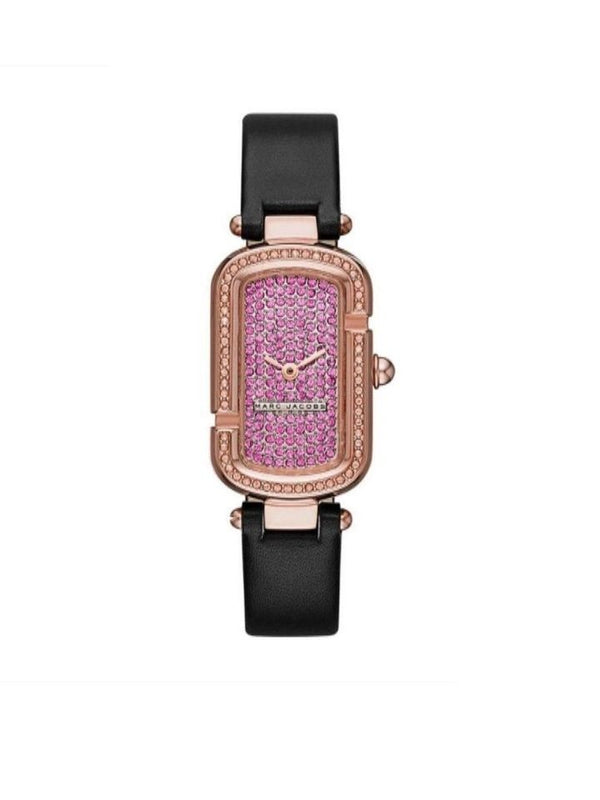 Marc Jacobs MJ1554 Gold Tone Crystallized Watch