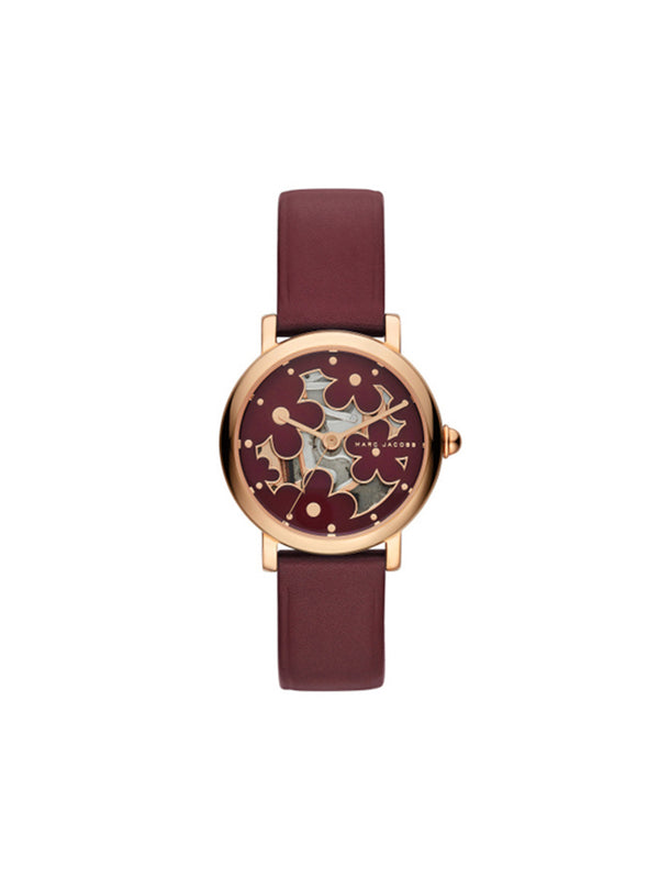 Marc Jacobs MJ1629 Classic Quartz Red Dial Ladies Watch