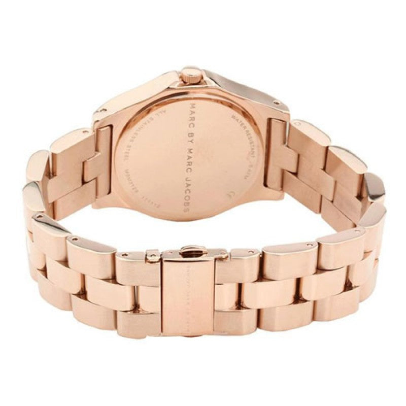 Marc Jacobs Mbm3127 Blade Rose Dial Watch