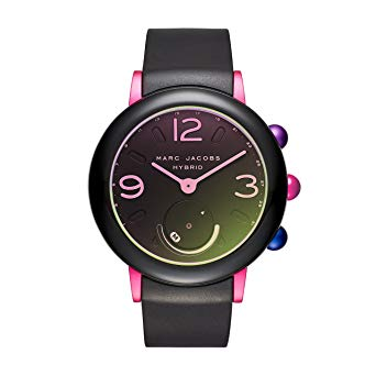 Marc Jacobs Mjt1003 Riley Hybrid Smartwatch Black Pink