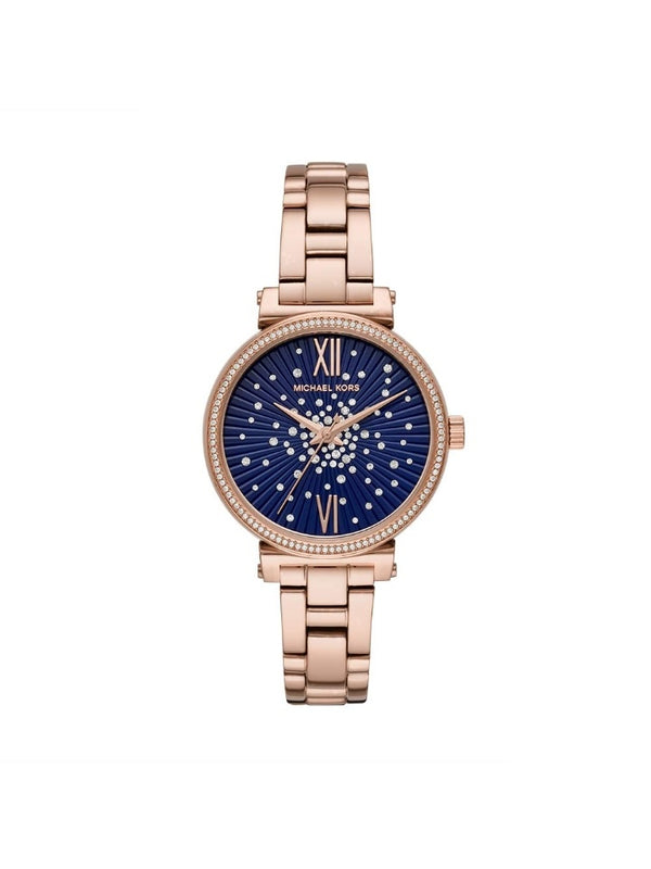 Michael Kors MK3971 Mini Sofie Bracelet Watch In Rose Gold