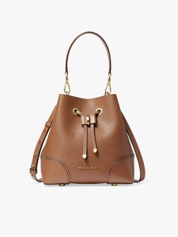 Michael Kors 30f9gz5l1L Gallery Small Bucket Bag Luggage