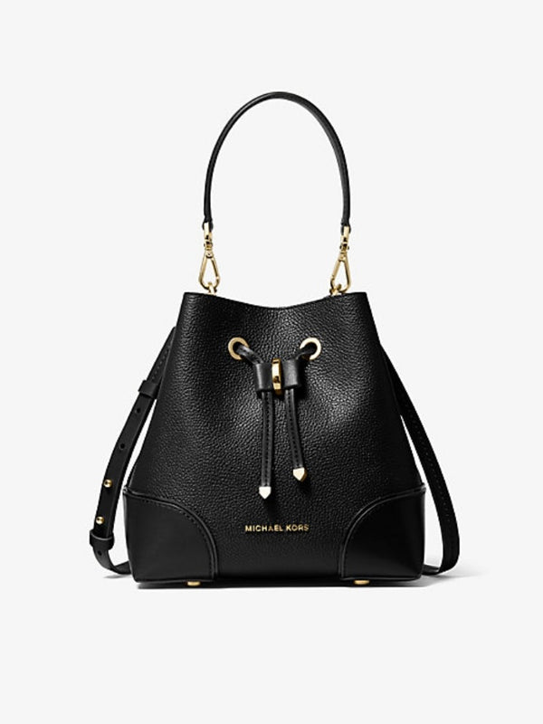 Michael Kors 30f9gz5l1l Gallery Small Leather Black