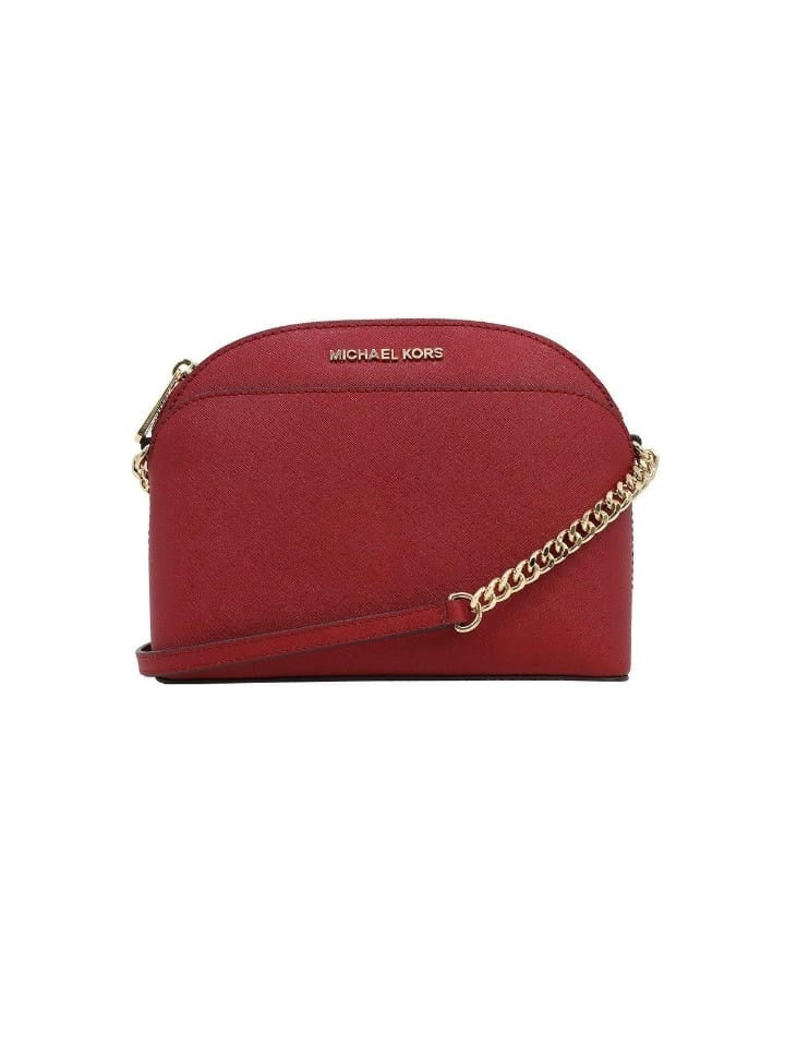 Michael Kors 35h7gy3c2l Emmy Medium Crossbody Scarlet