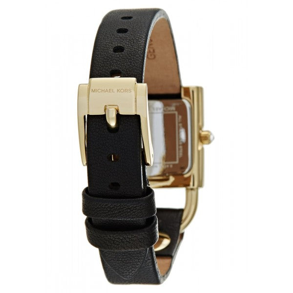 Michael Kors MK2692 Isadore Black Leather Two-Hand Watch