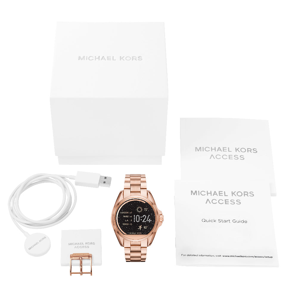 Michael Kors MKT5004 Access Bradshaw Rose Gold Smartwatch