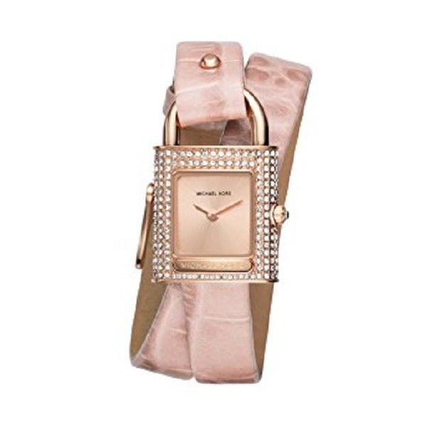 Michael Kors Mk2706 Isadore Rose Gold Pink Leather