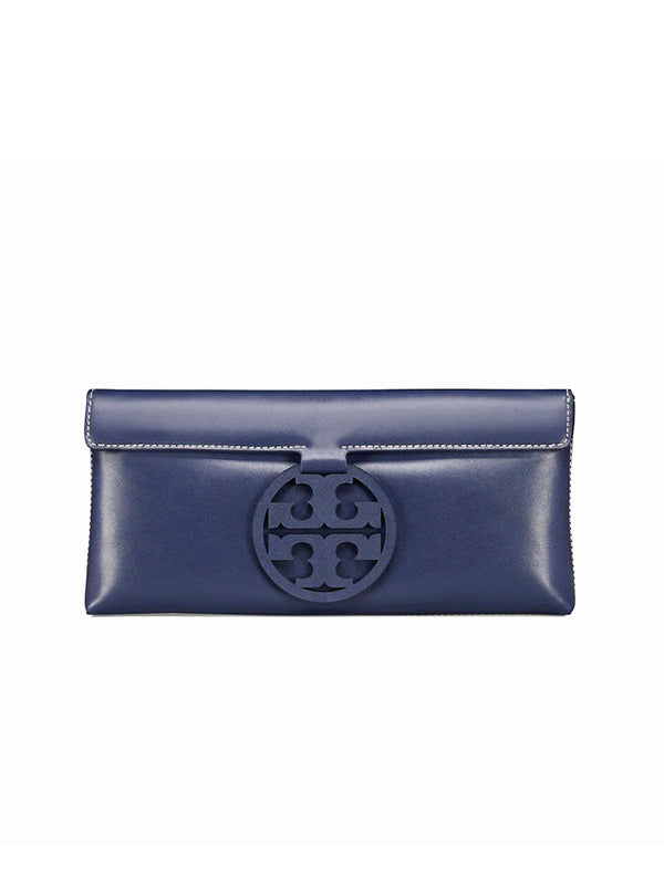 Tory Burch 46988 Miller Clutch Royal Navy