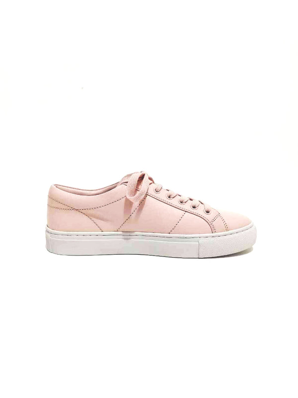 Tory Burch 57024 Amalia Sneakers Calf Leather Ballet Pink Size 7