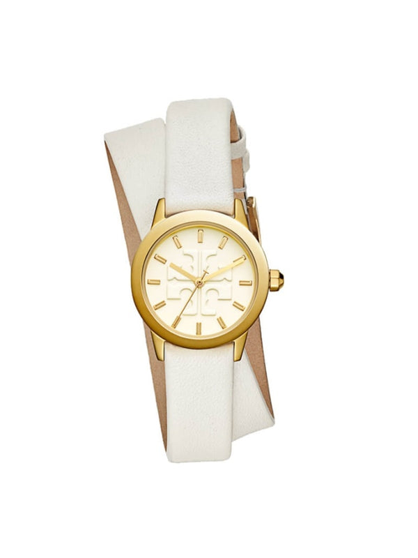 Tory Burch TBW2002 Gigi Double Wrap Watch Ivory