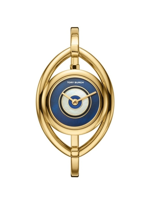 Tory Burch TBW5000 The Evil Eye Bangle Gold Watch