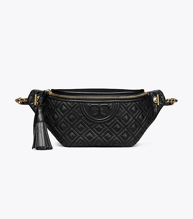 Tory Burch 53060 Fleming Belt Bag Black