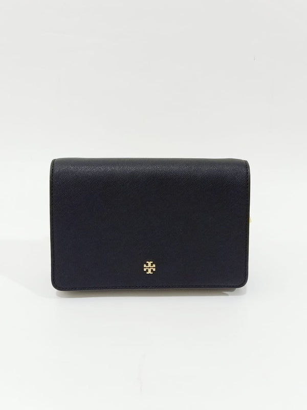 Tory Burch 58440 Emerson Combo Crossbody Black