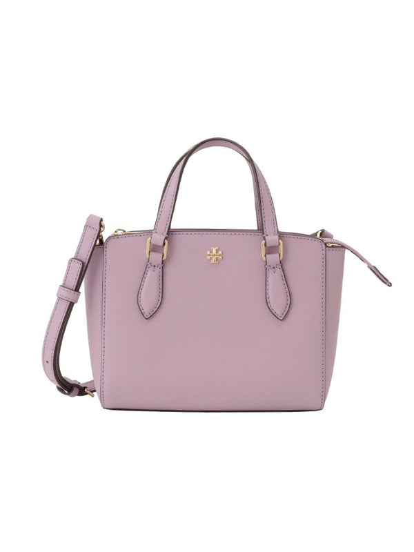 Tory Burch 64189 Mini Top Zip Tote Dusty Violet