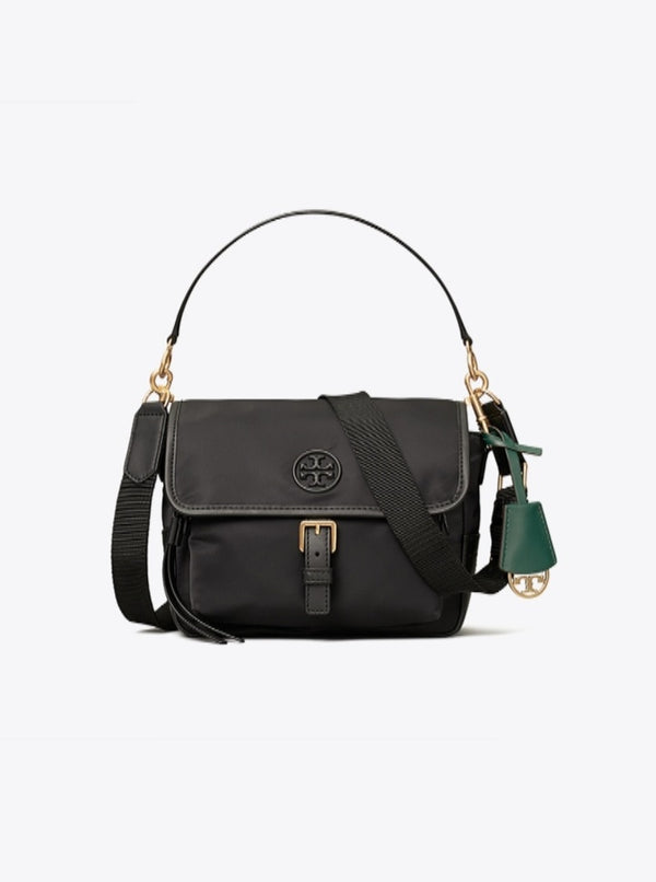 Tory Burch 74464 Perry Nylon Crossbody Black