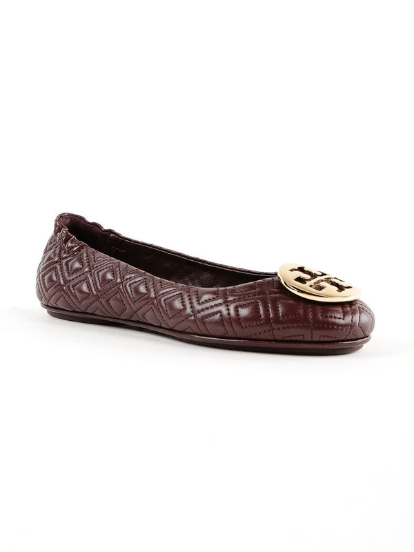 Tory Burch Quilted Minnie Napa Leather Port Size 7