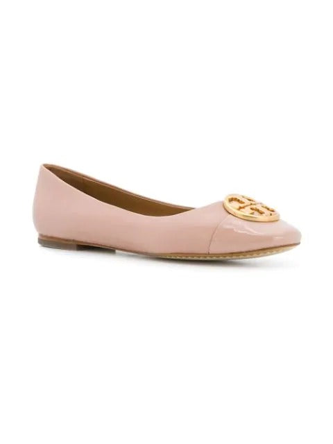 Tory Burch 48355 Chelsea Cap-toe Leather Goan Sand Size 6
