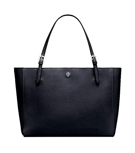 Tory Burch P1859V01 Emerson Small Buckle Tote Black