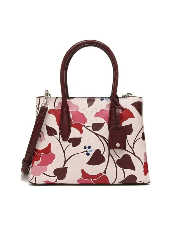 Kate Spade Wkru7011 Eva Small Top Zip Satchel Nouveanu Bloom